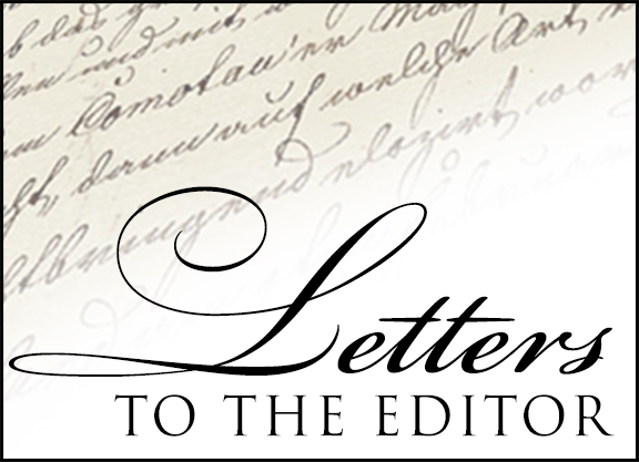 Letter to the Editor: Kirk Robison