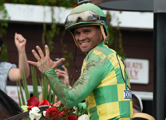 Hall of Fame Jockey Javier Castellano Tests Positive for COVID-19