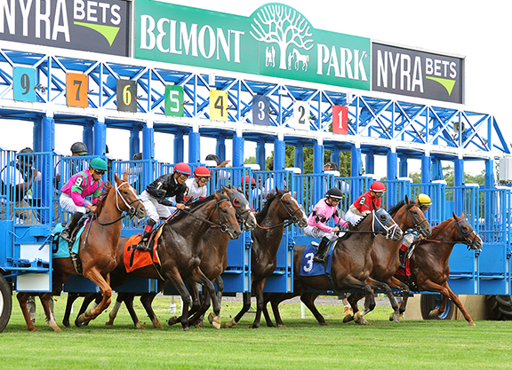Live Racing Broadcast Daily Through Belmont Spring/Summer Meet