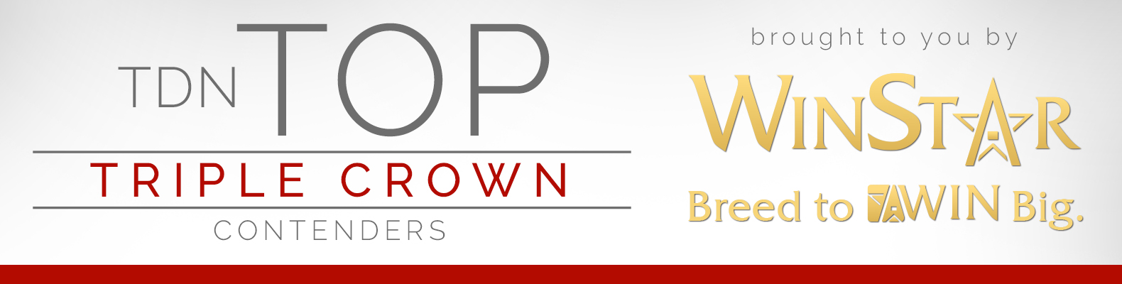 TDN Top Triple Crown Contenders