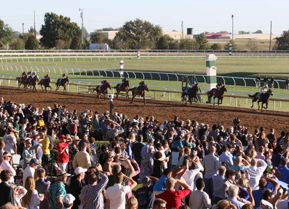 keeneland race track fall meet dates