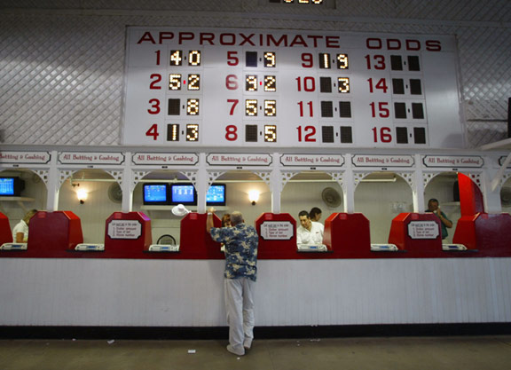 Betting window at race track towcester greyhound betting