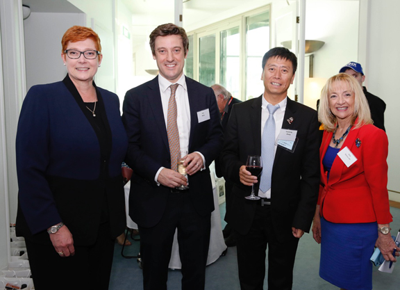 TBA Hosts Canberra Event for Breeders and Australian Parliament