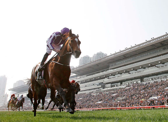 Highland Reel Goes Out a Winner in the Vase