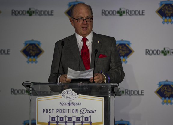 Hertrich Re-Elected Chairman of Breeders' Cup