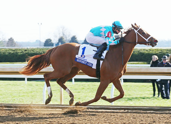 Tapizar's Monomoy Girl Runs to the Money in the Ashland