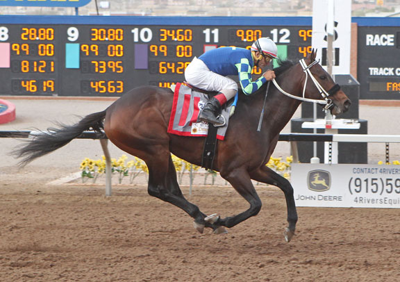 GSW Runaway Ghost Retired, to Stand in New Mexico