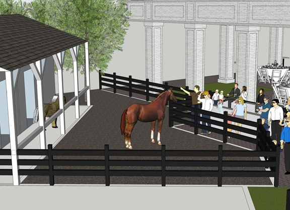 Kentucky Derby Museum Dedicates Stable In Honor Of Penny Chenery