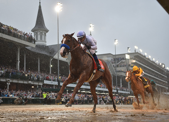 'Just' That Good: Justify Completes Meteoric Ascent in Derby