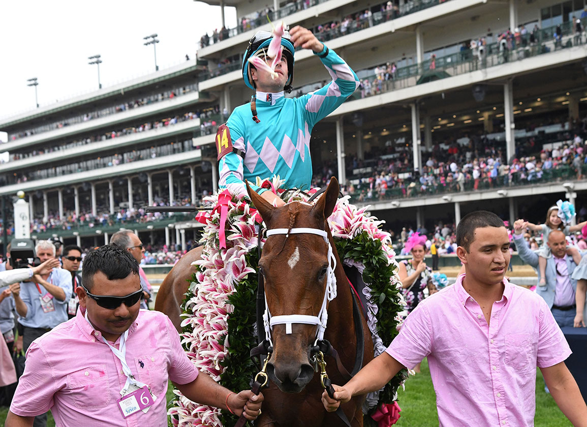 Tapizar Makes for Memorable Oaks Day for Hernon