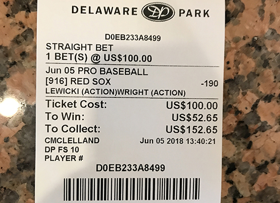Sports betting delaware can you bet on the preakness online