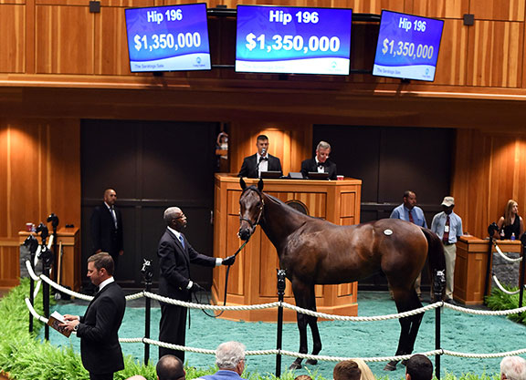 Medaglia d'Oro Dominates As Record-Setting FTSAUG Sale Concludes