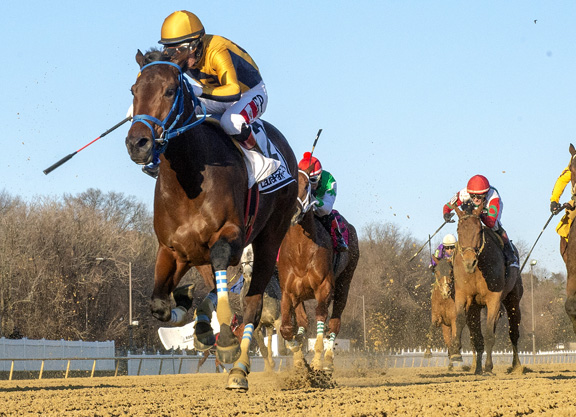 Wow… Charles Town Filly is the Real Deal