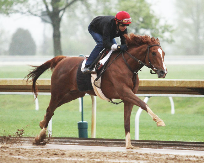 Code of Honor Records Final Keeneland-Based Derby Work