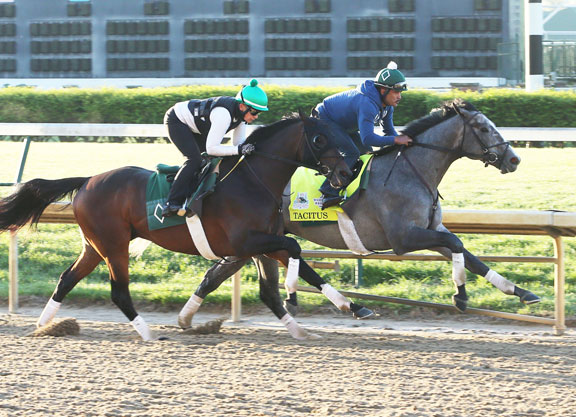 Quartet of Derby Contenders Work at Churchill