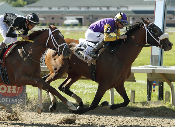 Into Mischief's Owendale Gets It Done in Ohio Derby