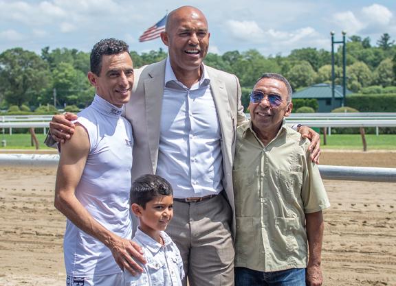 Mariano Rivera Honored at The Spa