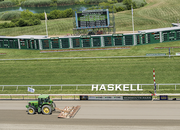 Haskell Card at Monmouth Paused; Stakes to Be Held Starting at 6:00 P.M.