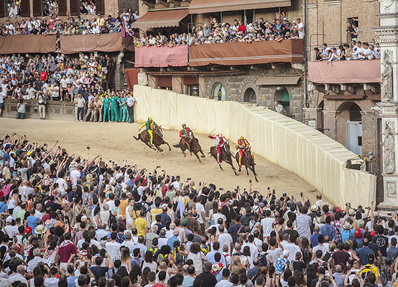 The Palio: A Balcony With a View