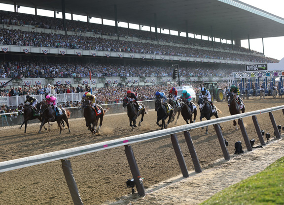 Six People On Belmont Backstretch Have Tested Positive for COVID-19