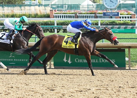 Paynter Filly Earns Breeders' Cup Berth in Pocahontas