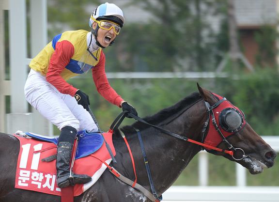 Landmark Victories for Korea in Keeneland Cup, Sprint