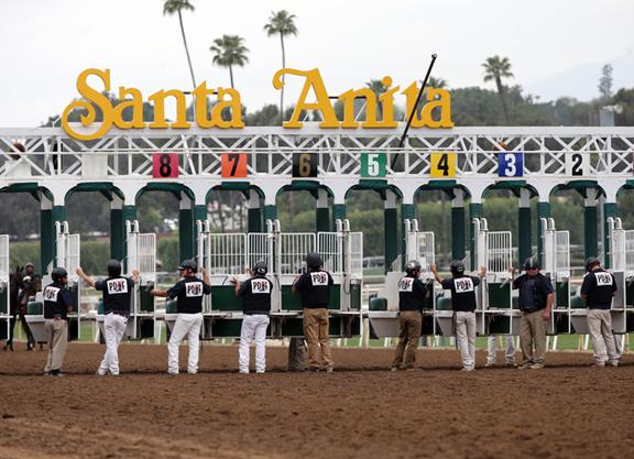 Santa Anita Park Closed by LA County Officials Due to COVID-19