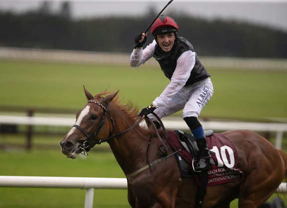Galileo's Search For A Song Wins the Irish Leger