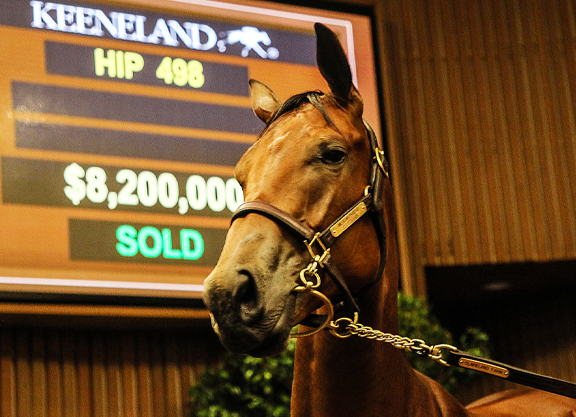 Book 1 Finishes With a Bang at Keeneland September