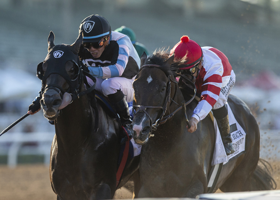 Omaha! War Front Colt Makes Statement in Thrilling Comebacker