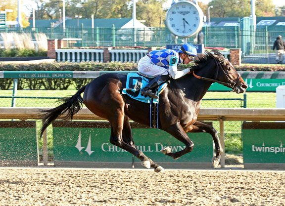 Pioneerof the Nile Filly Stalks And Pounces in Churchill Bow