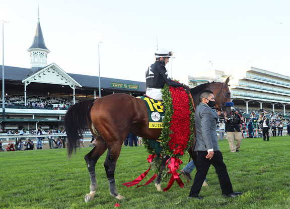 Authentic Draws Nine for Preakness