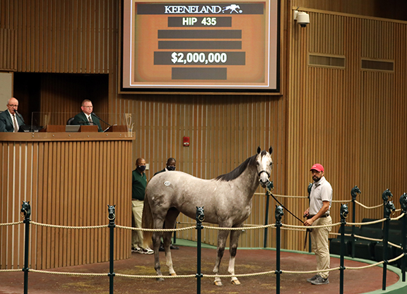 Book 1 Finishes With a Flurry at Keeneland September