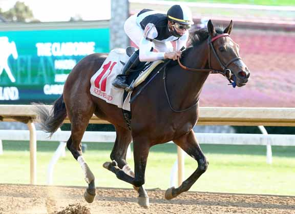 Nyquist Filly Too Tough in Keeneland Maiden