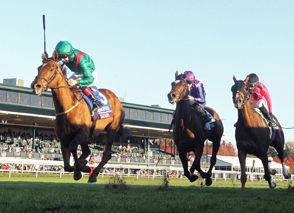Moment of 2020: European Success at the Breeders' Cup