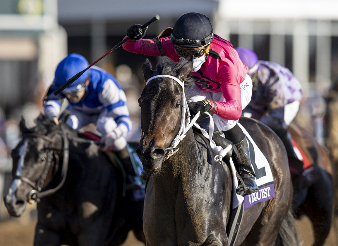 Nyquist's Vequist Upsets Breeders' Cup Juvenile Fillies