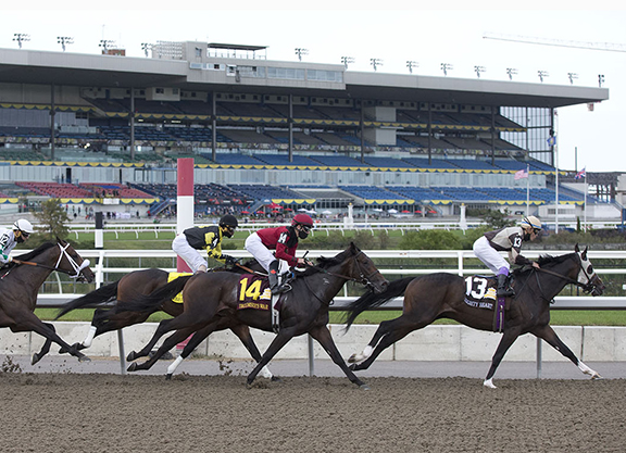 All-Sources Handle Down for Abbreviated Woodbine Meet