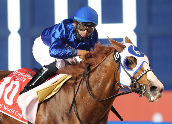Mystic Guide Much The Best in the Dubai World Cup
