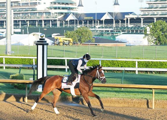 'Rising Star' Malathaat Favored For Oaks 147