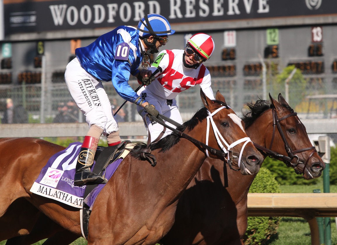 Belmont Stakes Under Consideration for Malathaat