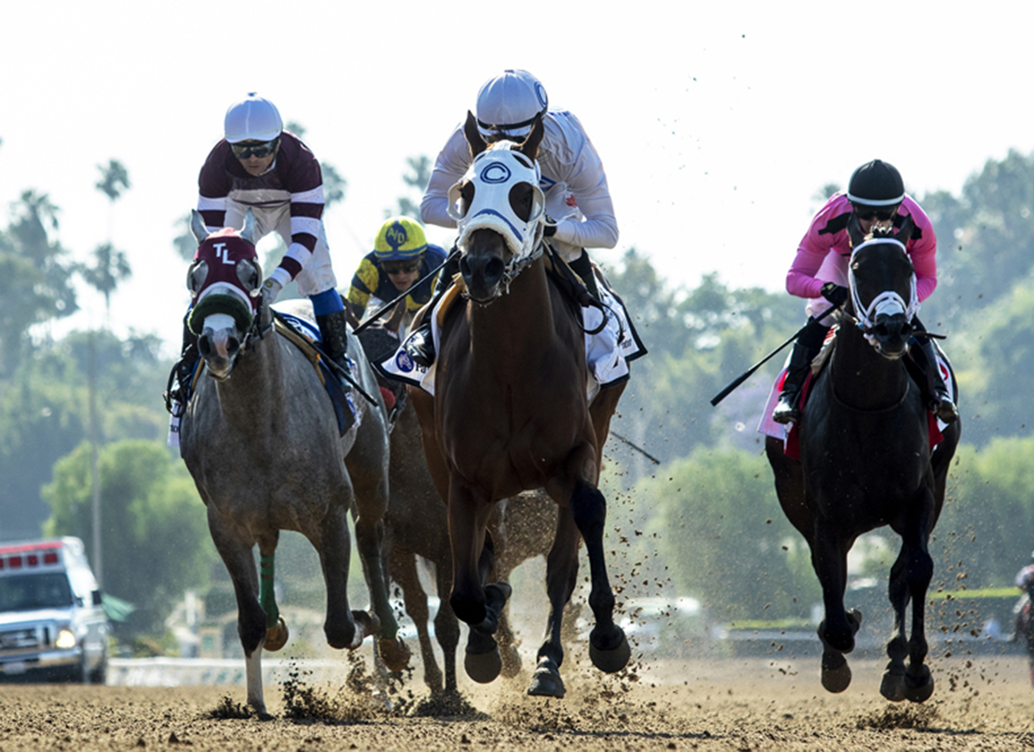 Outwork Filly Duels and Draws Off in Fasig-Tipton Debutante