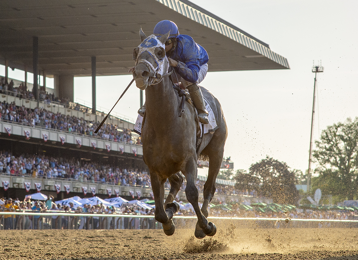 Essential Quality Gives Tapit Fourth Belmont Win