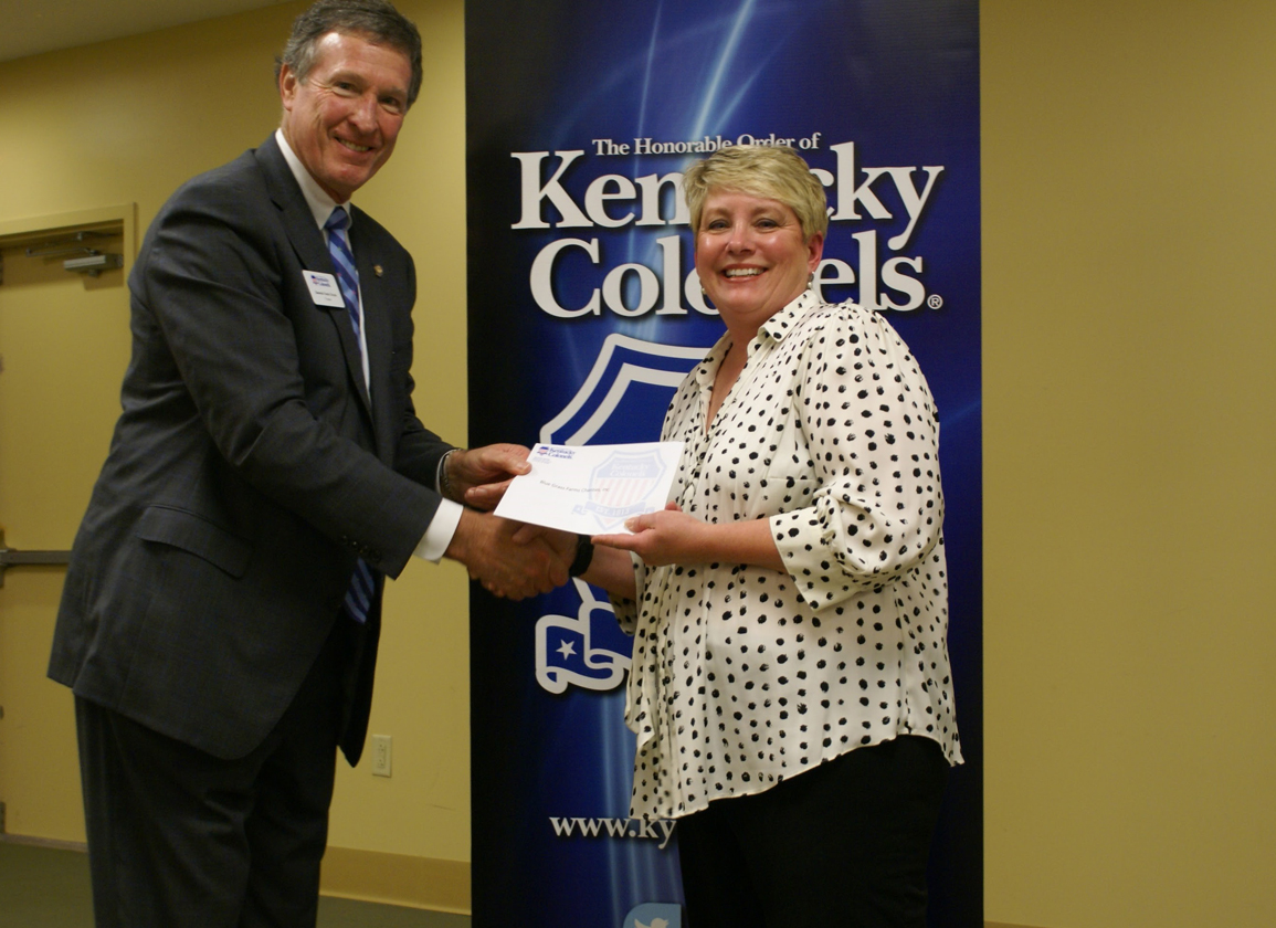 KY Colonels Offer Grant to BGFC For Backstretch Kids