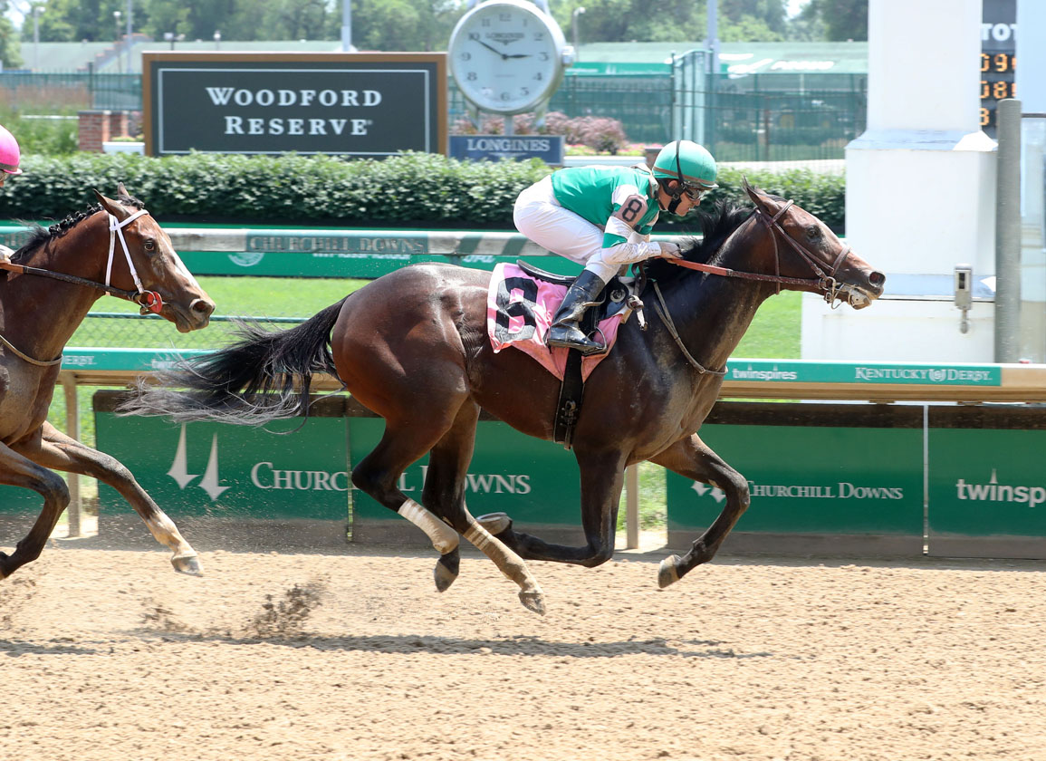 Another Churchill Debut Winner for Classic Empire
