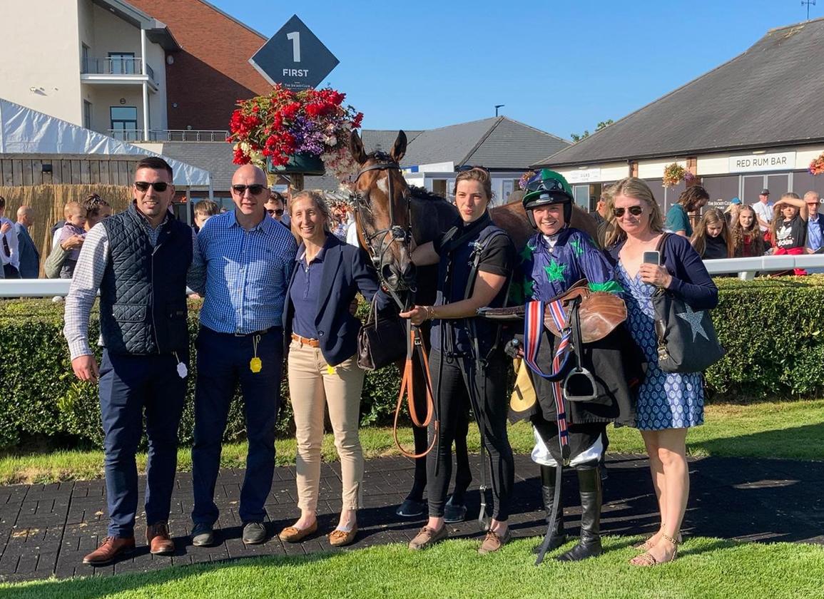 Fern O'Brien Rides First Winner at Carlisle