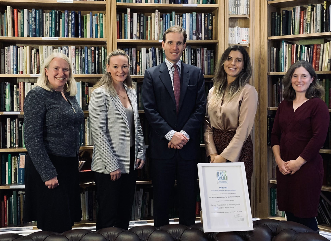 TBA and Racing Foundation Win Environmental Sustainability Award